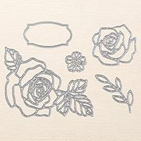 thinlits roseraie