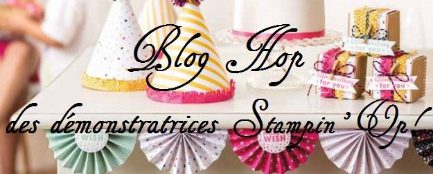 blog hop des démonstratrices