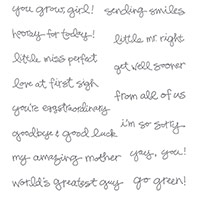 Greatest Greetings Clear-Mount Stamp Set