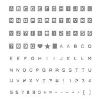Labeler Alphabet