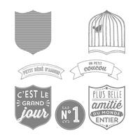 badges et banderoles