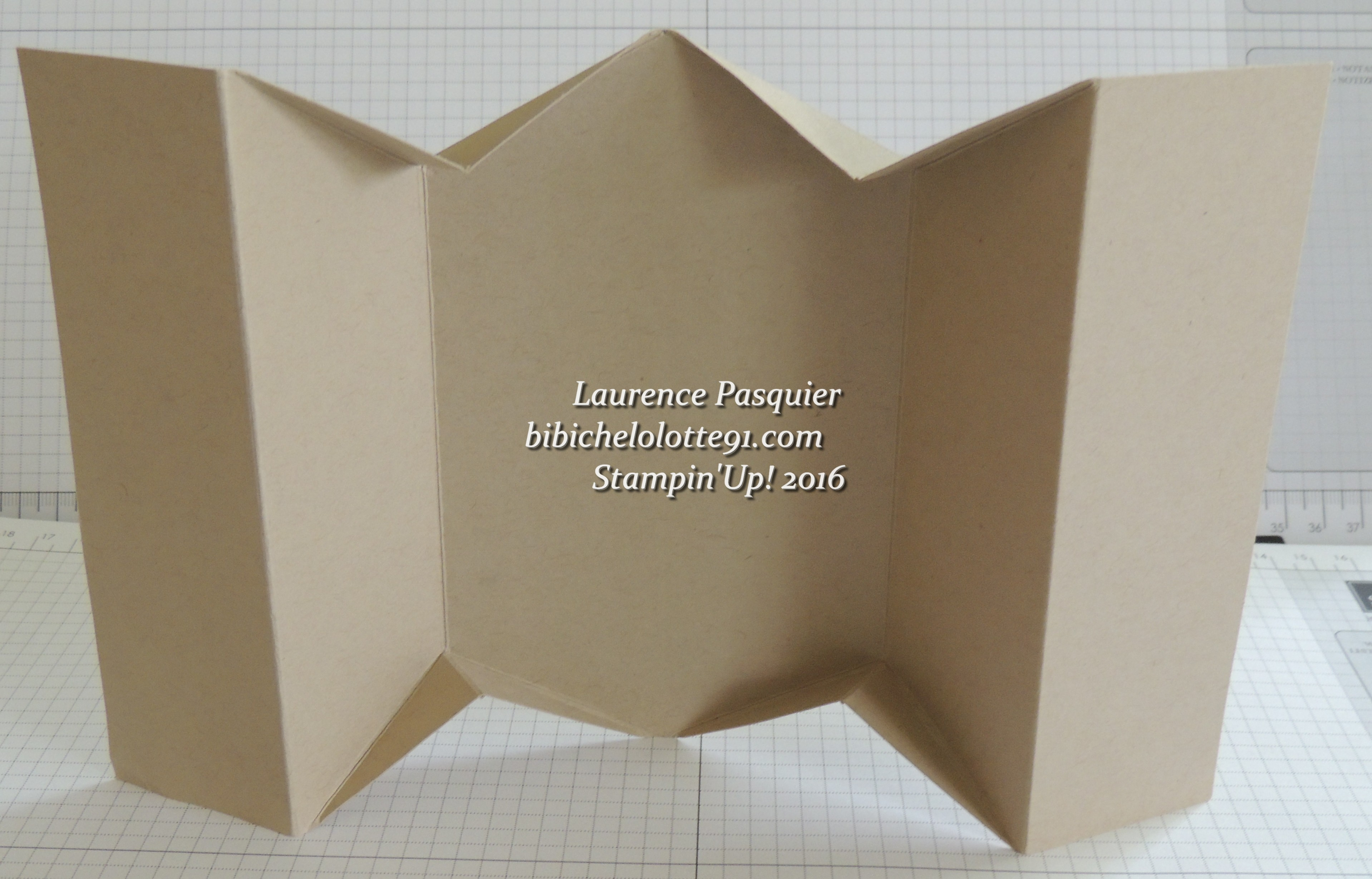 tuto carte fancy fold