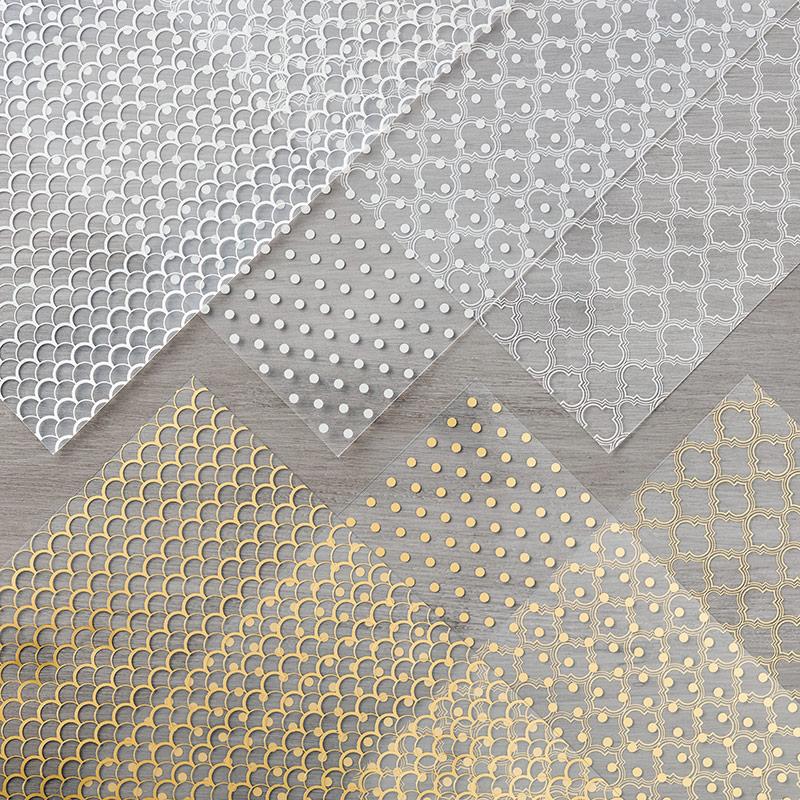 Acétate design splendeurs métallisées