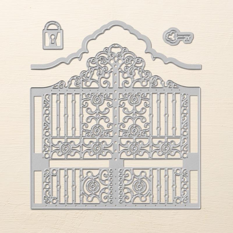 portail ciselé