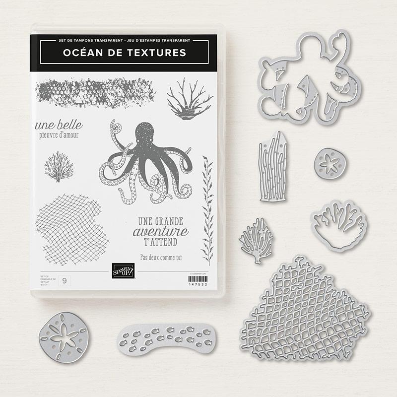 lot océan de textures