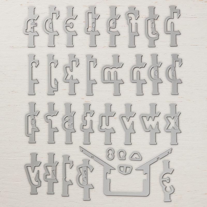 alphabet empilé
